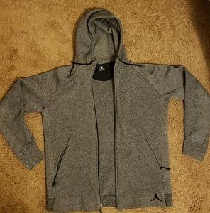 Men's Jordan brand zip up hoodie
